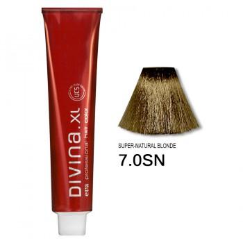 Краска для волос 7.0SN Divina. XL 120ml Русый натуральный теплый