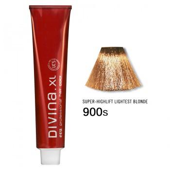 Краска для волос 900S Divina. XL 120ml Суперосветлитель натуральный
