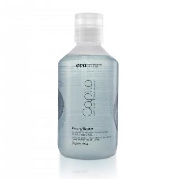 Тонизирующий лечебный шампунь временная потеря волос Capilo Energikum sh.#03 300ml