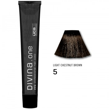 Краска для волос 5 Divina. one 60ml Шатен светлый натуральный