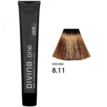 Краска для волос 8.11 Divina. one 60ml Светло-русый интенсивно пепельный