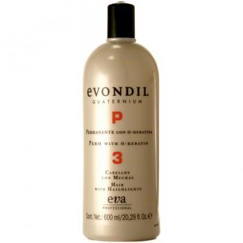 Завивка для чувствительных волос /Evondil quaternium «3» for sensitive hair 600ml