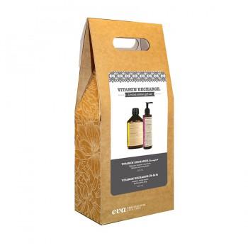 Набор витамин шампунь и витаминный крем Pack Vitamin Recharge limited edition 500ml+250ml