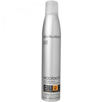 Эколак для волос - сильная фиксация/Ecolack «2» strong hold fuerte evajazz 400ml