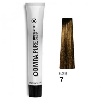 Краска для волос 7 Divina.Pure 60ml Русый натуральный