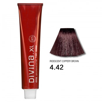 Краска для волос 4.42 Divina. XL 120ml Шатен холодный медный