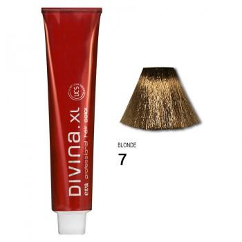 Краска для волос 7 Divina. XL 120ml Русый натуральный