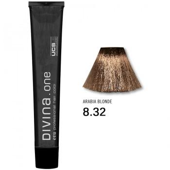 Краска для волос 8.32 Divina. one 60ml Светло-русый золотисто-фиолетовый