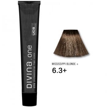 Краска для волос 6.3+ Divina. one 60ml