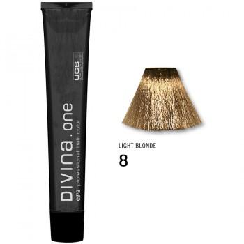 Краска для волос 8 Divina. one 60ml Светло-русый натуральный