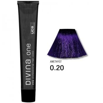 Краска для волос 0.20 Divina. one 60ml Микстон фиолетовый