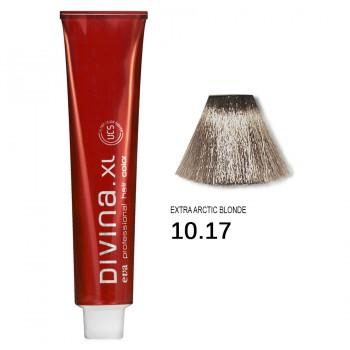 Краска для волос 10.17 Divina. XL 120ml Блондин серебристый
