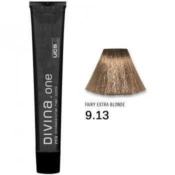 Краска для волос 9.13 Divina. one 60ml Темный блондин пепельно-золотистый