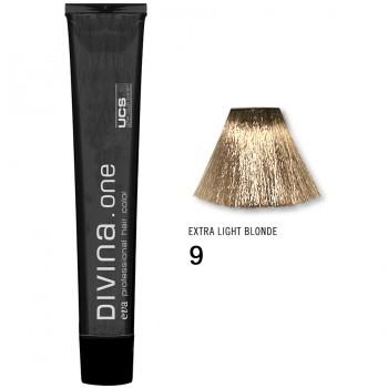 Краска для волос 9 Divina. one 60ml Темный блондин натуральный