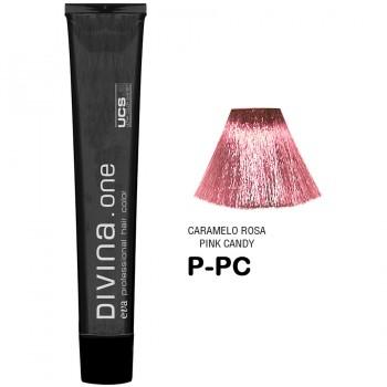 Краска для волос N.P-PC Divina. one 60ml Розовая пастель
