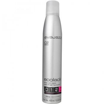 Эколак для волос сверхсильная фиксация Ecolack «3» Evajazz 400ml