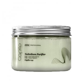 Маска для смягчения волос/стимуляции фолликул 450ml/Capilo Technikum purifier #41