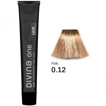 Краска для волос 0.12 Divina. one 60ml Микстон жемчужный