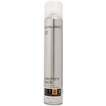 Лак для волос сильной фиксации Evajazz Strong Technilack 500ml