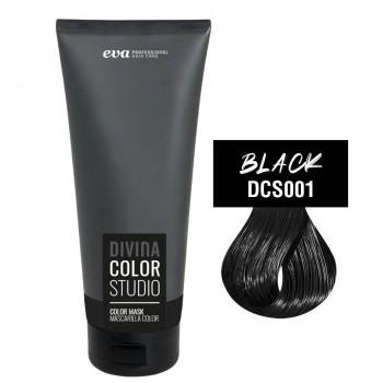 Тонирующая маска для волос Divina Color Studio black (черный)