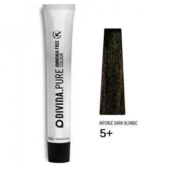 Краска для волос 5+ Divina.Pure 60ml Светлый шатен натуральный для седины
