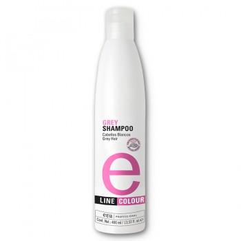 Шампунь для седых волос/Grey Shampoo e-line 400ml