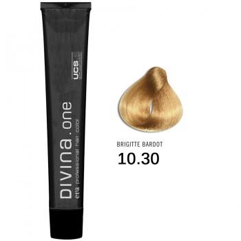 Краска для волос 10.30 Divina. one 60ml Блонд золотыйстый для седины