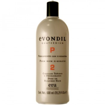 Завивка для поврежденных волос Evondil Quaternium  «2» for dyed hair 600ml