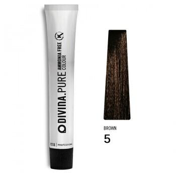 Краска для волос 5 Divina.Pure 60ml Светлый шатен натуральный