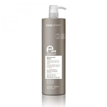 Защитный шампунь для волос Dermocare Wash e-line 1000ml