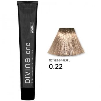 Краска для волос 0.22 Divina. one 60ml Микстон перламутровый