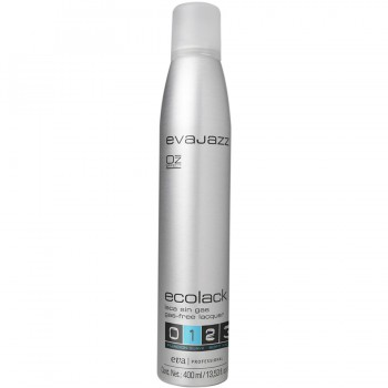Эколак для волос - легкая фиксация Ecolack «1» Soft Hold Suave Evajazz 400ml