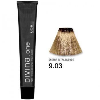 Краска для волос 9.03 Divina. one 60ml Темный блондин натуральный золотистый