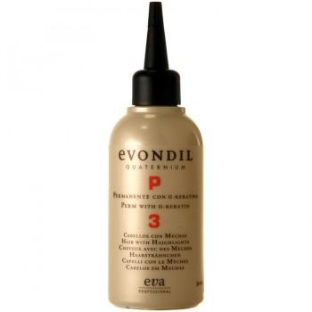 Завивка для чувствительных волос Evondil Quaternium  «3» for sensitive hair 125ml