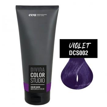 Тонирующая маска для волос Divina Color Studio violet (фиолетовый)