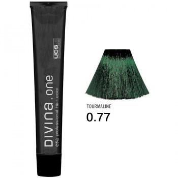 Краска для волос 0.77 Divina. one 60ml Микстон зеленый
