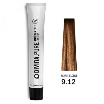 Краска для волос 9.12 Divina.Pure 60ml Темный блонд пепельно-фиолетовый