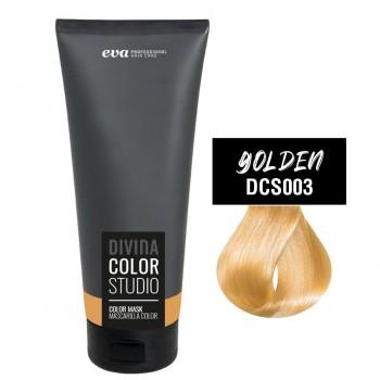 Тонирующая маска для волос Divina Color Studio golden (золото)
