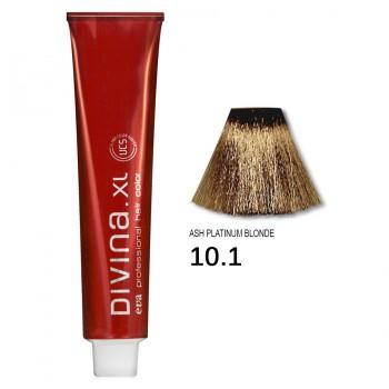 Краска для волос 10.1 Divina. XL 120ml Блондин пепельный