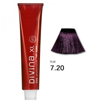 Краска для волос 7.20 Divina. XL 120ml Русый фиолетовый