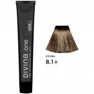 Краска для волос 8.1+ Divina. one 60ml